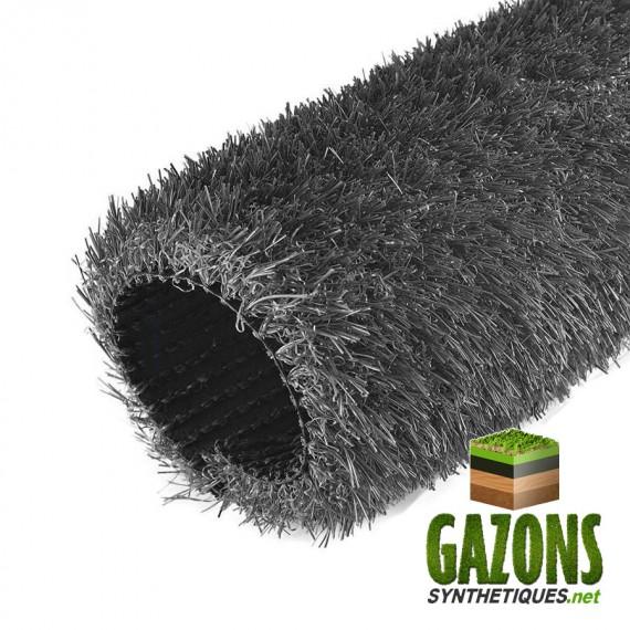 gazon synthétique couleur gris anthracite