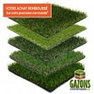 Pack Échantillons de 5 Gazons Synthétiques TERRASSE - BALCON + 1 GUIDE PRATIQUE Offert