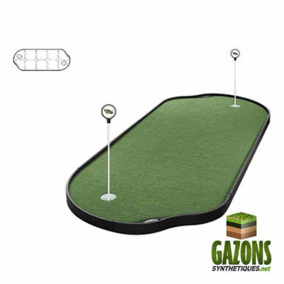 Kit Golf - 10 paneaux - Putting Green