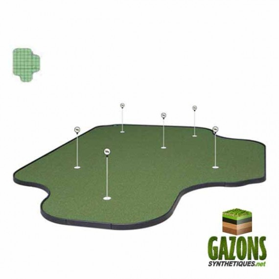 Kit Golf - 59 paneaux - Putting Green